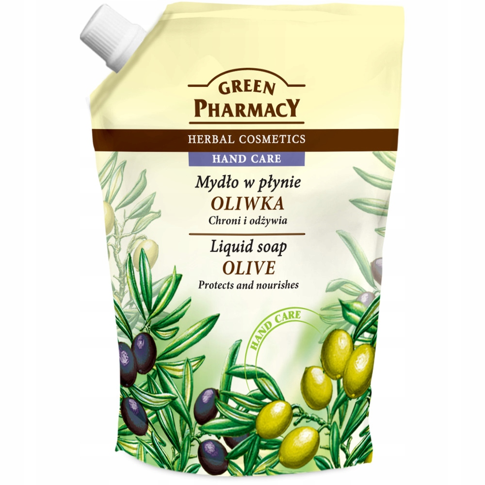 GREEN PHARMACY LIQUID SOAP OLIVE PROTECTS AND NOURISHES